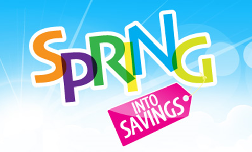 Spring Savings graphic